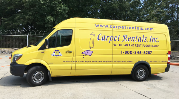 Carpet Rentals Van