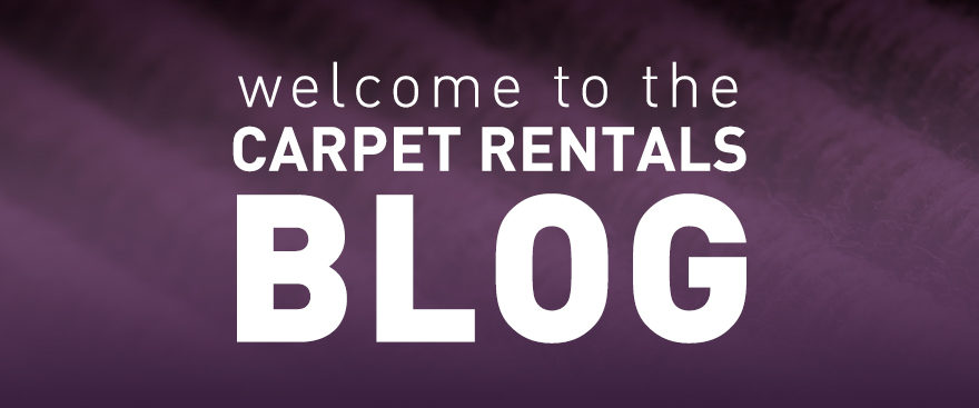 Welcome to the Carpet Rentals Blog