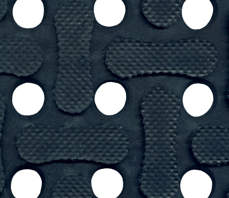 Close up picture of an anti-fatigue mat