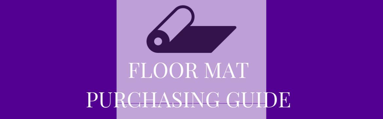 floor mat purchasing
